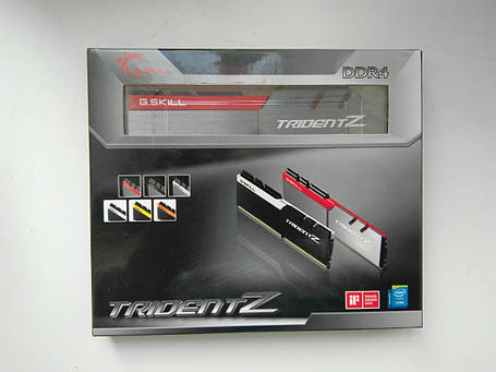 G.Skill 16 GB (2x8 GB) DDR4 4266 MHz Trident Z (F4-4266C19D-16GTZA), фото 2