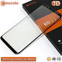 Защитное стекло Mocolo Samsung Galaxy S8 3D (Black), фото 1