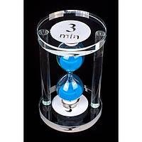 Часы песочные стеклянные (3 мин.)