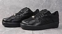 Кроссовки женские Nike Air Force D2235 черные
