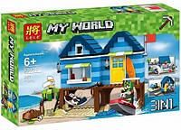 Конструктор Minecraft Отпуск у моря 33036