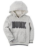 Толстовка Carters на мальчика 2-5 лет Hunk Pullover Hoodie