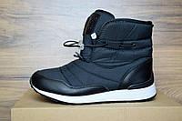 Зимние женские сапоги Reebok черные 3083