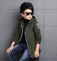 Детское кашемировое пальто для мальчика