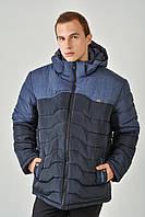 Зимняя мужская куртка на силиконе 3010, фото 1