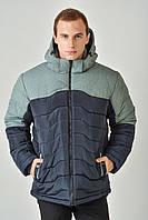 Зимняя мужская куртка на силиконе 3010/1