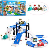 Автотрек детский Щенячий патруль. Автотрек игрушки.Игрушки парковки и гаражи.