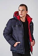 Зимняя мужская куртка на силиконе 3013, фото 1