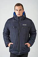 Зимова чоловіча куртка на силіконі 3013/1, фото 1