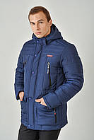 Зимняя мужская куртка на силиконе 3014/1, фото 1