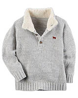 Теплый свитер Carters на мальчика 2-5 лет Mock-Neck Sweater