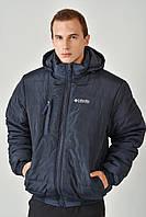 Зимова чоловіча куртка на резинці 3018