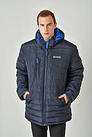 Зимова чоловіча куртка на силіконі 3019