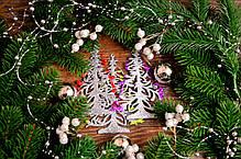 """Новогоднее украшение """"Елочка завиток"""" микс, фото 2"""