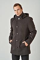 Мужское пальто с капюшоном кашемир 4020/1, фото 1