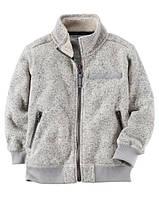 Теплая кофта Carters на мальчика 2-5 лет Full-Zip Fleece Sweater