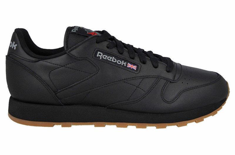 Кроссовки REEBOK Classic Black Leather 49800 (Оригинал ) -