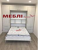 Стенка со встроенным шкафом-кроватью трансформером.
