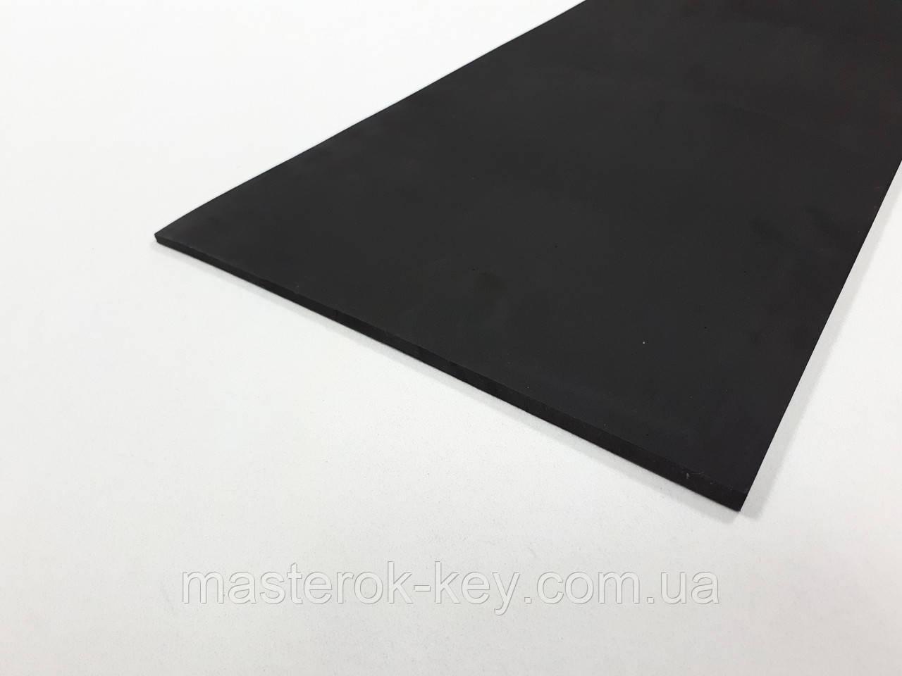 Косяк из микропоры для подошвы гладкий 100см*30см*5/10мм черный