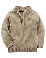 Теплый свитер Carters на мальчика 2-5 лет Half-Zip Sweater