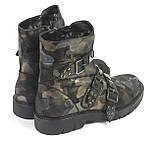 Женские зимние камуфляжные ботинки, фото 3