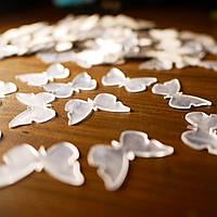 Акриловые зеркальные наклейки бабочки 100 штук
