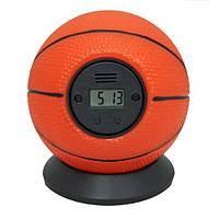 Будильник антистресс «Баскетбольный мяч» Будильник Мяч об стенку.