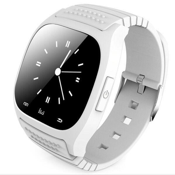 Смарт-часы M26. Умные часы в белом цвете