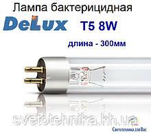 Люминесцентная лампа бактерицидная Delux Т5 8W