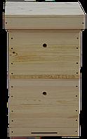 Улей Многокорпусный под рамку типа «Дадан 300 мм» (2 корпуса, 12-ти рамочный)