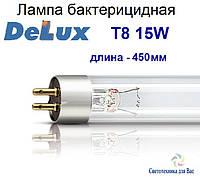 Люминесцентная лампа бактерицидная Delux Т8 15W G13, фото 1