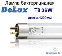 Люминисцентная лампа бактерицидная Delux Т8 36W G13