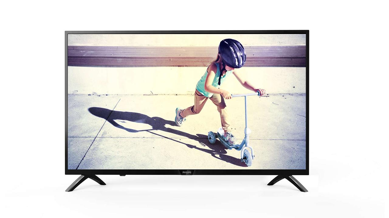Телевизор Philips 43PFS4012/12 (PPI 200Гц, Full HD, Digital Crystal Clear, DVB-С/T2/S2)