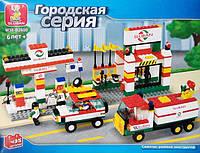 Конструктор Sluban M38-B2600 АВТОЗАПРАВКА Городская серия.
