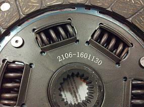 Диск сцепления ВАЗ 2101, 2102, 2103, 2104, 2105, 2106, 2107;  2106-1601130 ДК, фото 3