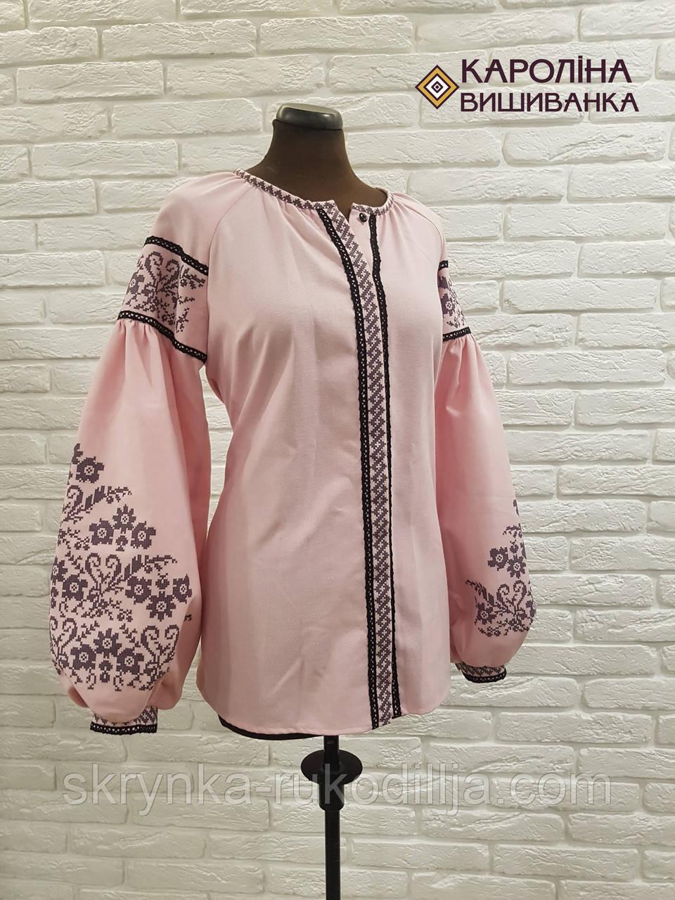 ... Заготовка непошита для вишивання бісером або нитками жіночої сорочки  вишиванки в стилі бохо 68c60daf34581