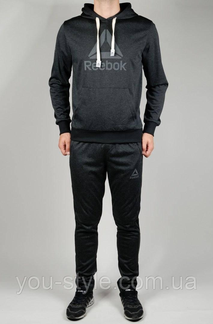 Мужской спортивный костюм Reebok 4424 Чёрный