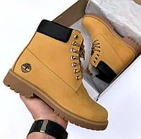 Ботинки зимние женские Timberland Classic Boots на меху