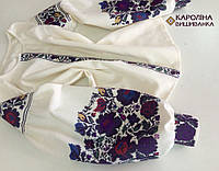 Заготовка непошита для вишивання бісером або нитками жіночої сорочки  вишиванки в стилі бохо 52192eaaa9c8e