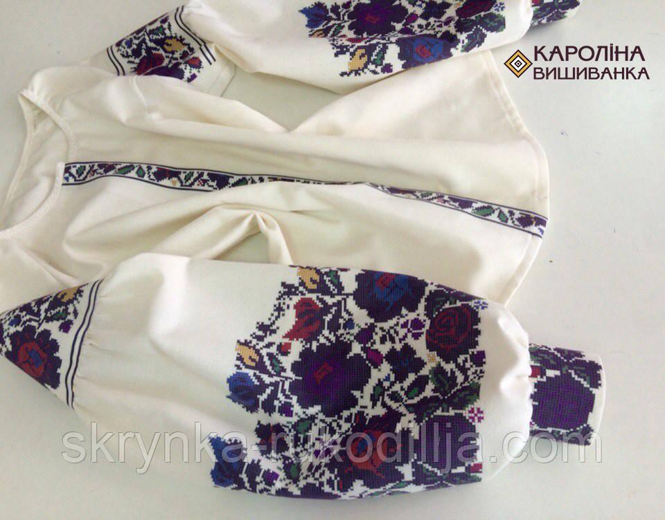 Заготовка непошита для вишивання бісером або нитками жіночої сорочки  вишиванки в стилі бохо - СКРИНЬКА. 5f99e11a827e5