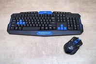 Игровая русская беспроводная клавиатура и мышка. Комплект