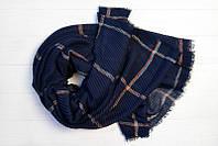 Легкий однотонный шарф