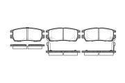 Гальмівні колодки передні ROADHOUSERH RH MITSUBISHI 2405.02
