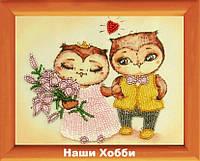 """Схема для вышивания бисером 976 """"Свадебная"""" (по картине И. Пальцер)"""