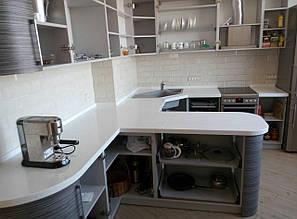 Столешницы для кухни и ванной из искусственного камня