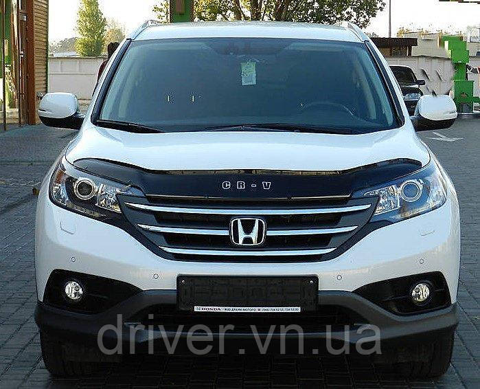 Дефлектор капота (мухобойка) Honda CR-V 2012-