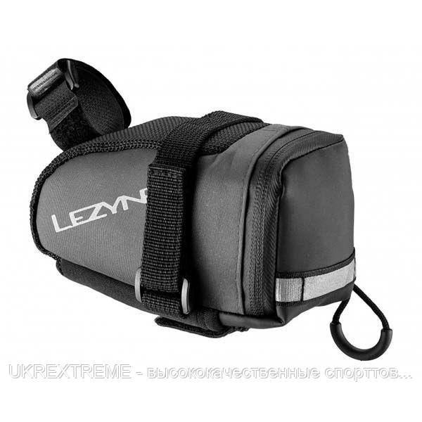Подседельная сумочка Lezyne M-CADDY, серый/черный (ОРИГИНАЛ)