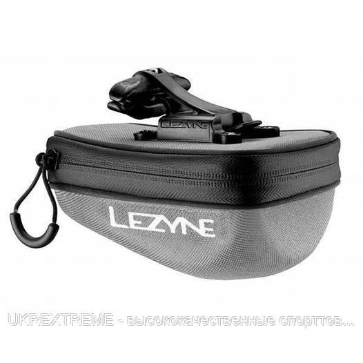 Подседельная сумочка Lezyne POD CADDY QR, M, серый/черный (ОРИГИНАЛ)