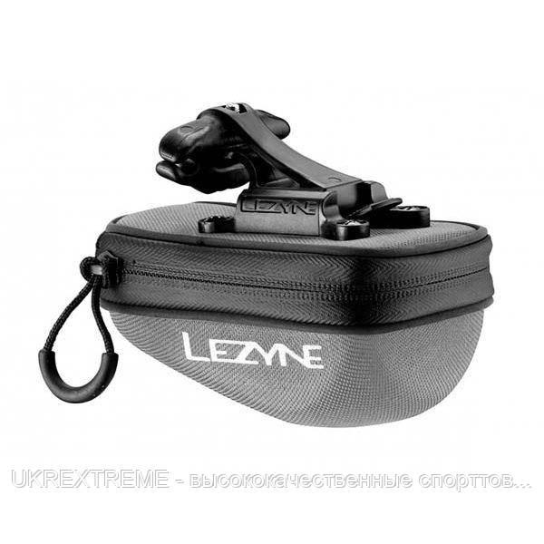Подседельная сумочка Lezyne POD CADDY QR, S, серый/черный (ОРИГИНАЛ)