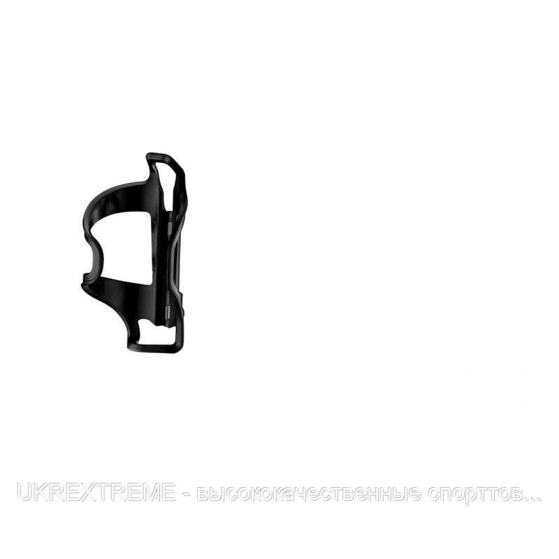 Флягодержатель LEZYNE FLOW CAGE SL - L, черный, LEFT LOADING CAGE, COMPOSITE MATRIX MATERIAL (ОРИГИНАЛ)